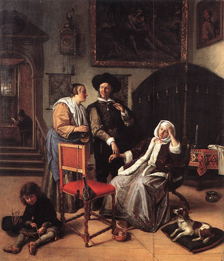 JanSteen-Doctor'sVisit(1658-1662)