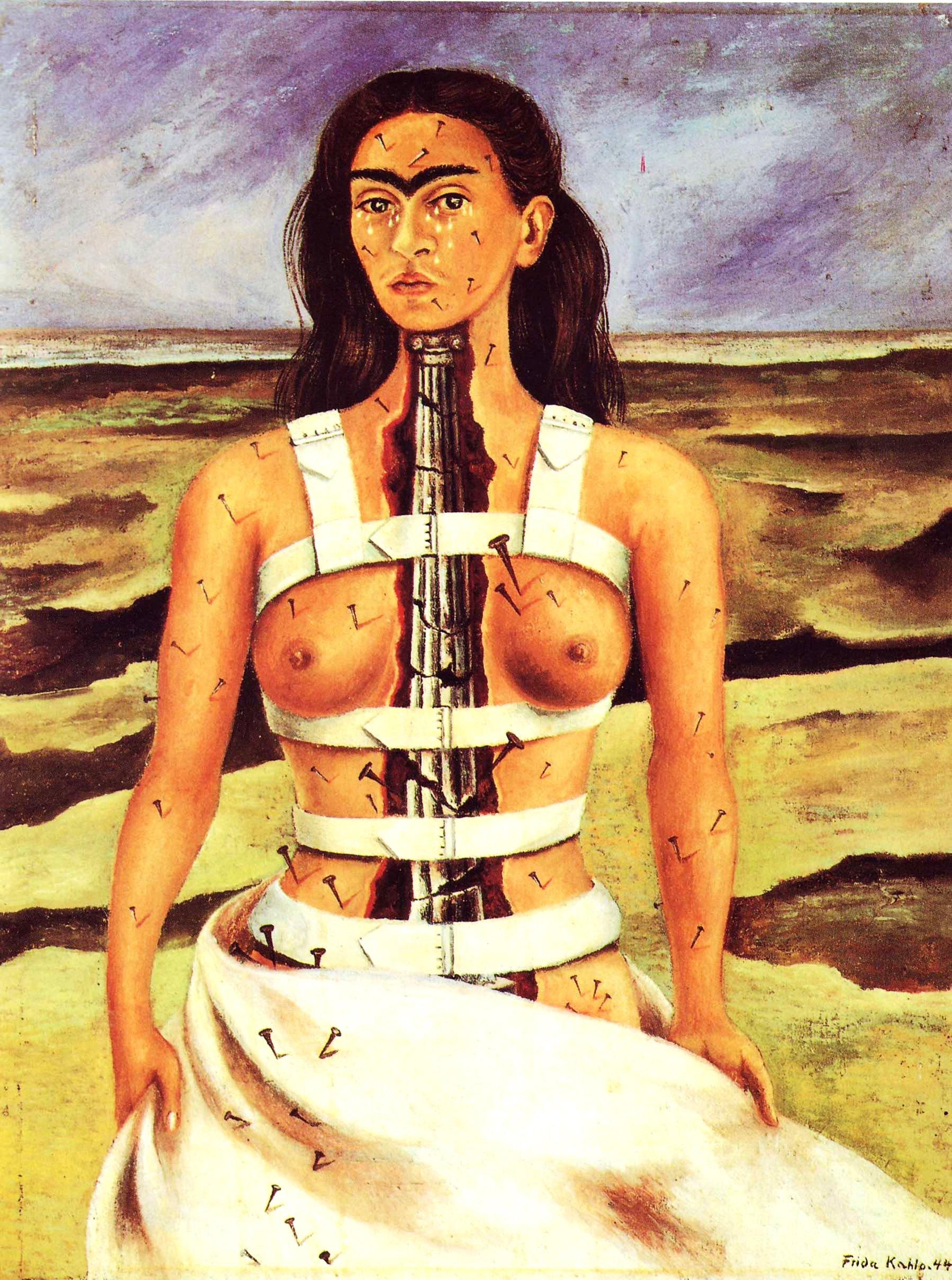 kahlo-la-columna-rota-1944